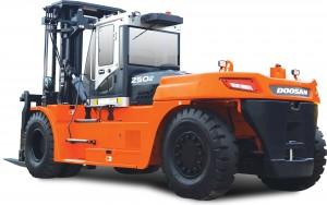 Doosan lifttruck rental hire forklift heavy machinery